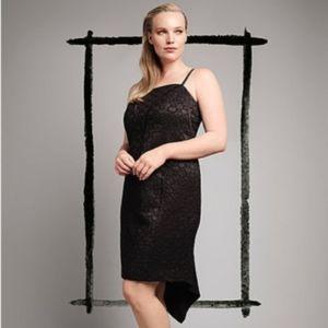 Isabel Toledo x Lane Bryant Black Deco Dress 16